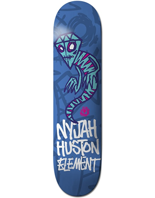 Element x Fos Nyjah Sprites Twig Pro Deck - 7.625""