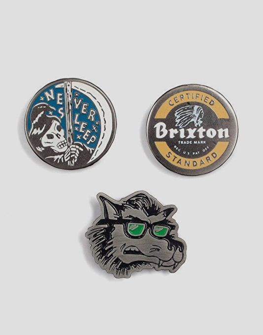 Brixton Sleeper Pin Pack