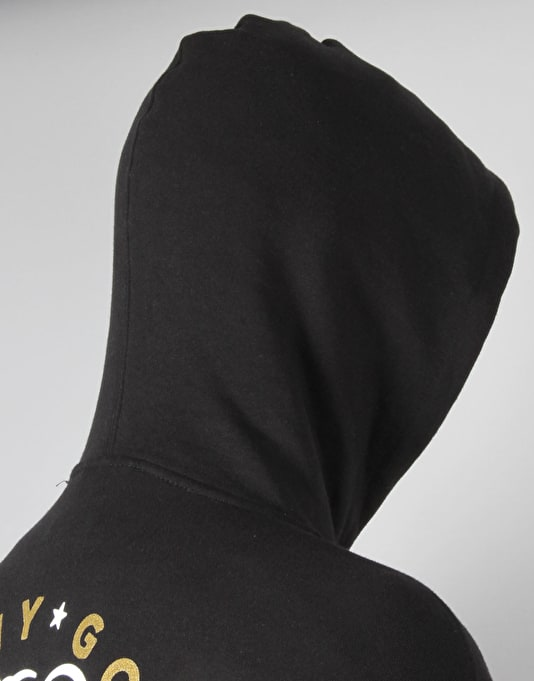 Grizzly x Benny Gold Stay Grizzly Pullover Hoodie - Black