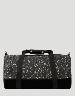 Mi-Pac Splattered Duffel Bag - Black/White