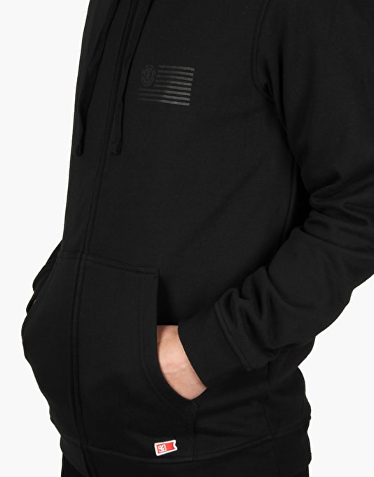 Element 92 Zip Hoodie - Black