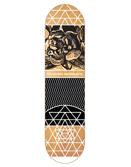 The National Skateboard Co. Universal Y Team Deck - 8.5""