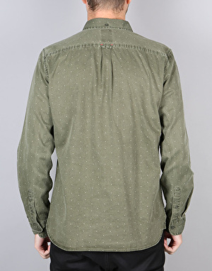 Element Moore Shirt - Moss Green