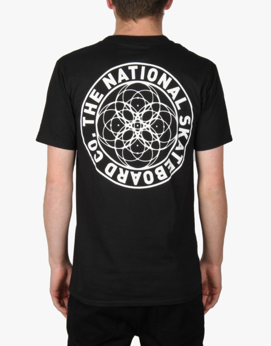 The National Skateboard Co. Universal T-Shirt - Black