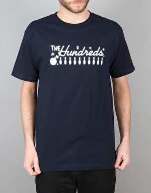 The Hundreds Strike T-Shirt - Navy