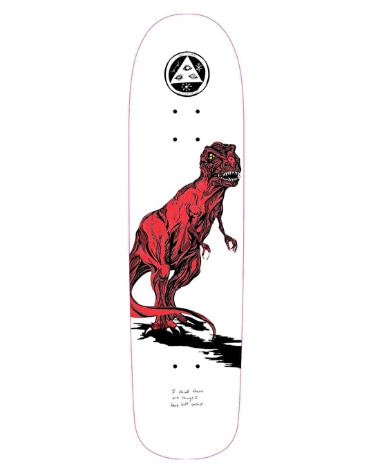 Welcome Featherless on Planchette 2.0 Team Deck - 8.8""