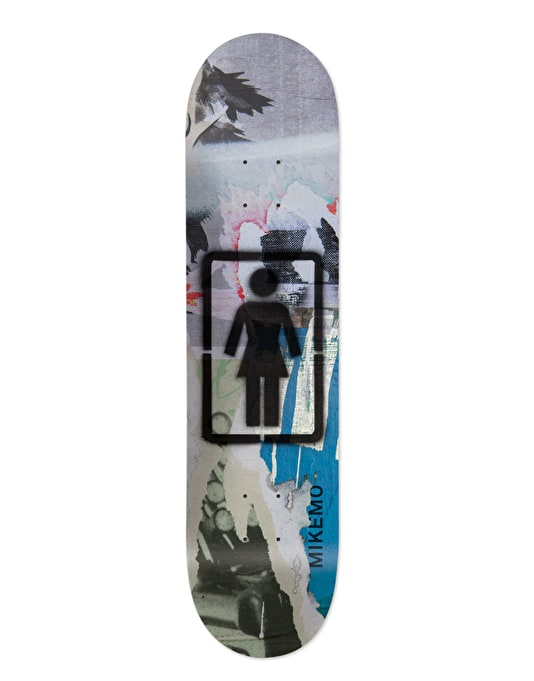 Girl Mike Mo Post No Bills Pro Deck - 8""