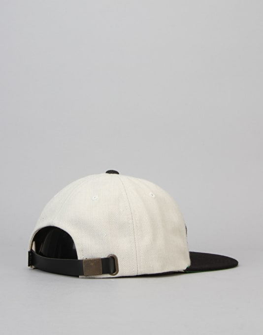 HUF x Thrasher Vintage Baseball 6 Panel Cap - White