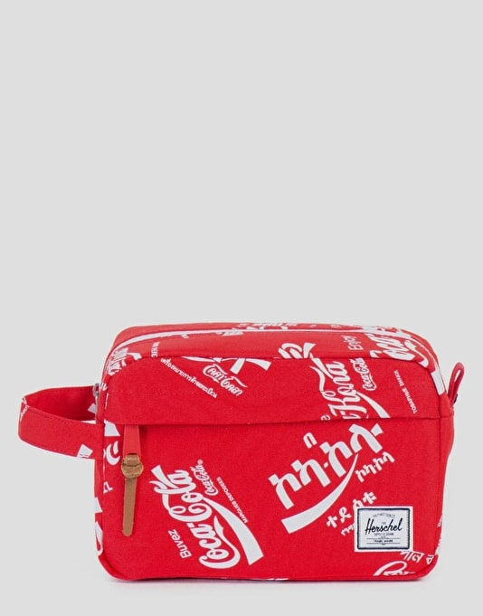 Herschel Supply Co. Coca Cola Collection Chapter Wash Bag - Red