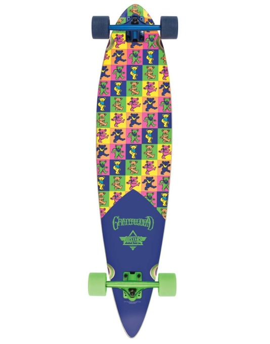 "Dusters x Grateful Dead Bears Longboard - 42"" x 9.5"""