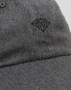 Diamond Supply Co. Brilliant Heathered Sports Strapback Cap - Black