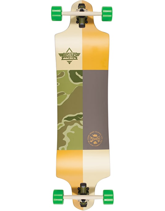 "Dusters x Kryptonics Scout Drop Down Longboard - 38"" x 9.75"""