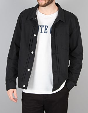 Stüssy Lightweight Trucker Jacket - Navy