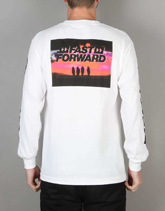 Kr3w x Fergus Purcell Forward L/S T-Shirt - White