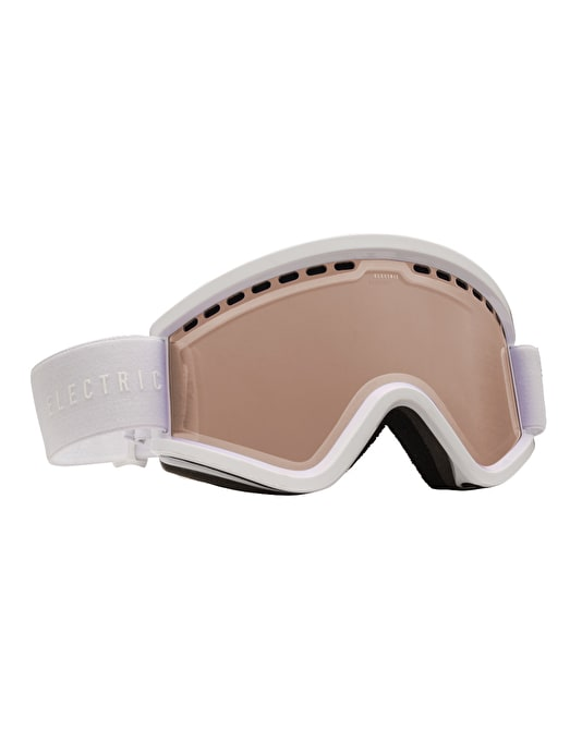 Electric EGV 2016 Snowboard Goggles - Gloss White