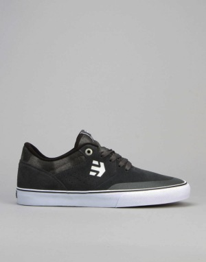 Etnies Marana Vulc (Willow) Skate Shoes - Grey/Grey/Black