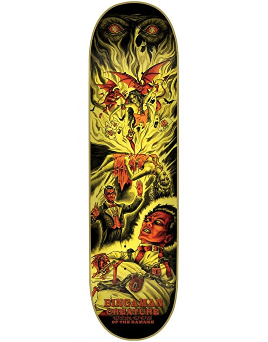 Creature Bingaman Circus of the Damned Pro Deck - 8.375""