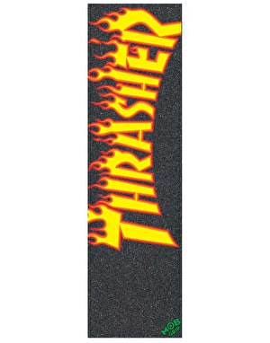 MOB x Thrasher Flame Logo 9