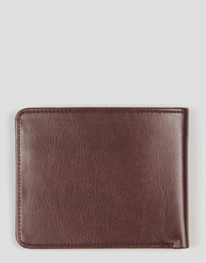 Route One Bi-Fold Wallet - Brown