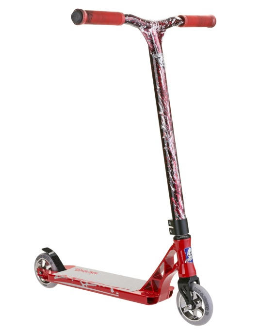 Grit Tremor Grom 2016 Scooter - Red/Laser Red