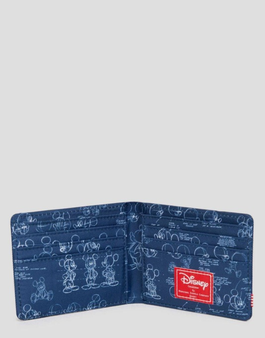 Herschel Supply Co. x Disney Roy Wallet - Mickey Mouse Navy
