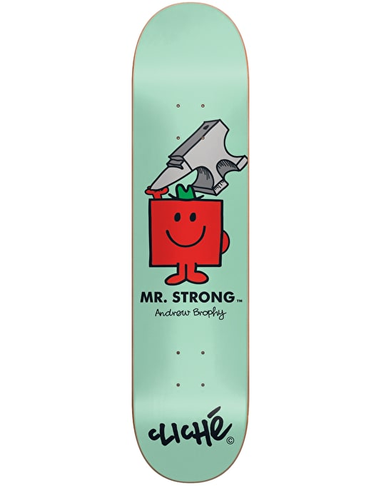 Cliché x Mr. Men Brophy Mr. Strong Pro Deck - 8.5""