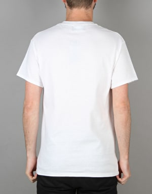 Route One Skate Store T-Shirt - White