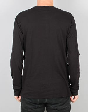 Emerica Skateboard Logo L/S T-Shirt - Black