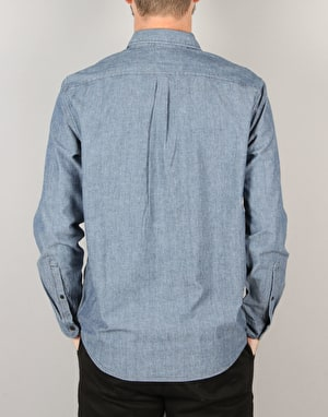 Levi's Skateboarding Reform L/S Shirt - Chambray Enzyme Wash