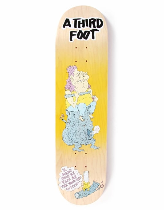 A Third Foot Log Bog Team Deck - 8.375""