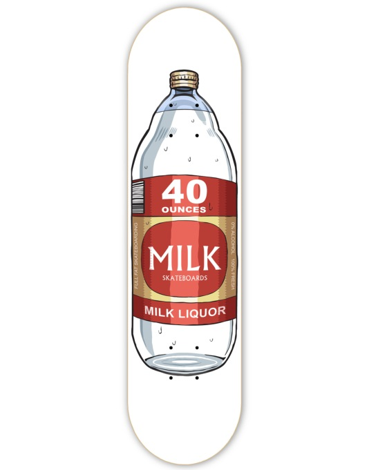 Milk 40oz Team Deck - 8.25""