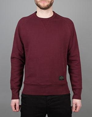 Levi's Skateboarding Crewneck Fleece - Wine Tasting