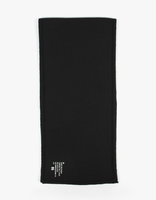 HUF Military Scarf - Black