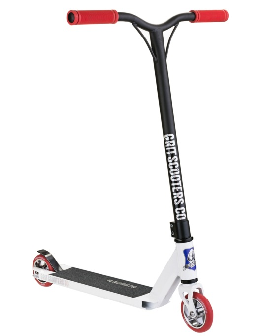 Grit Fluxx 2016 Scooter - White/Satin Black