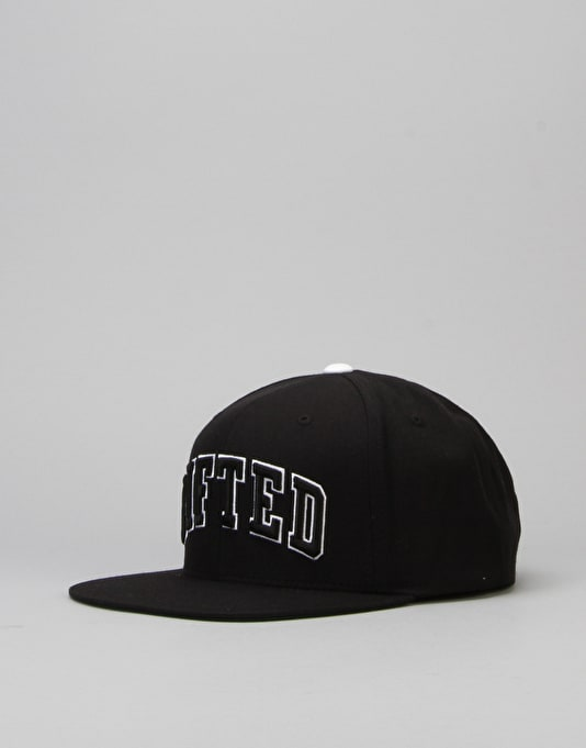 LRG Lifted Snapback Cap - Black