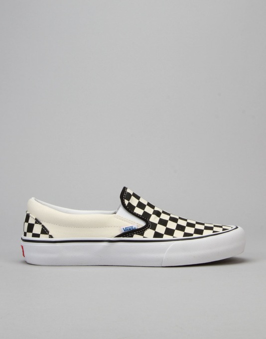 Vans Slip On Pro Skate Shoes - 82 Checkerboard