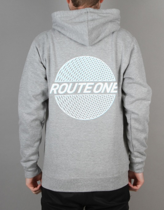 Route One Trippin' Pullover Hoodie - Grey