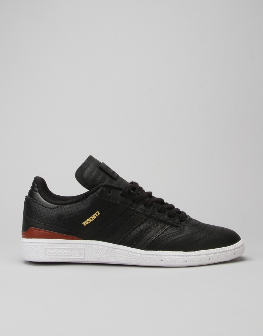 Adidas Busenitz Pro Classified Skate Shoes - Black/ST Redwood/White