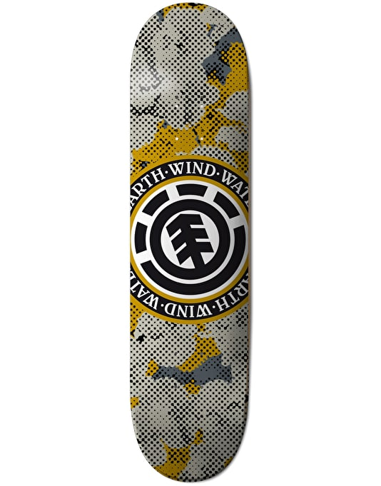 Element Seal Pop Camo Featherlight Team Deck - 8""