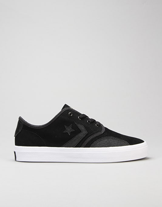 Converse Zakim Skate Shoes Black Black Gold