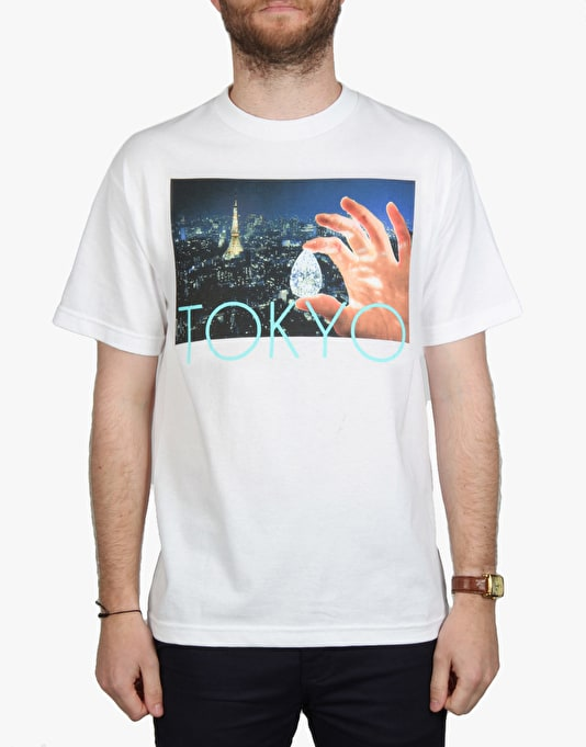 Diamond Supply Co. Tokyo Life T-Shirt - White
