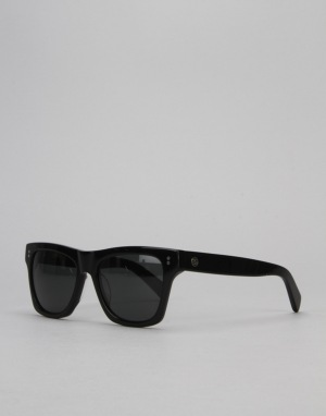 Stüssy Norton Sunglasses - Black/Dark Grey