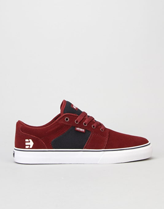 Etnies Barge LS Skate Shoes - Red/Navy