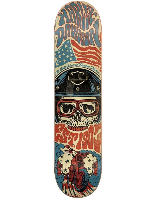 Darkstar x Harley-Davidson Legend Team Deck - 8.125""