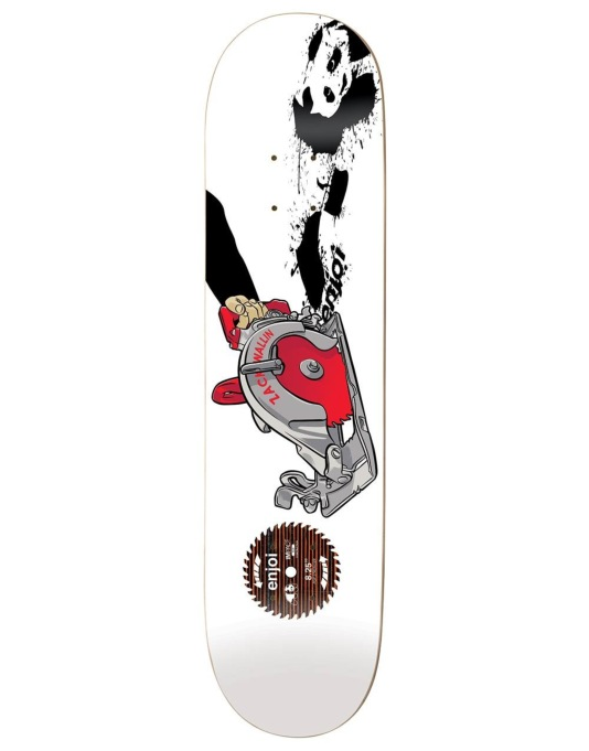 Enjoi Wallin Skill Saw Impact Plus Pro Deck - 8.25""