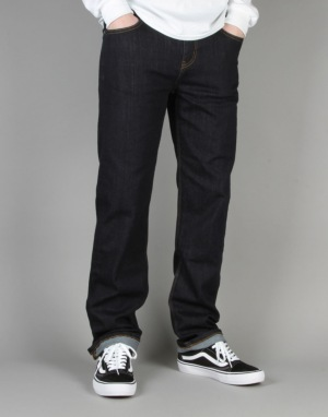 Route One Relaxed Denim Jeans - Raw