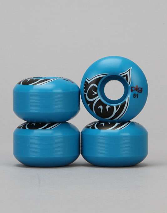 Pig Head Team Wheel - 51mm