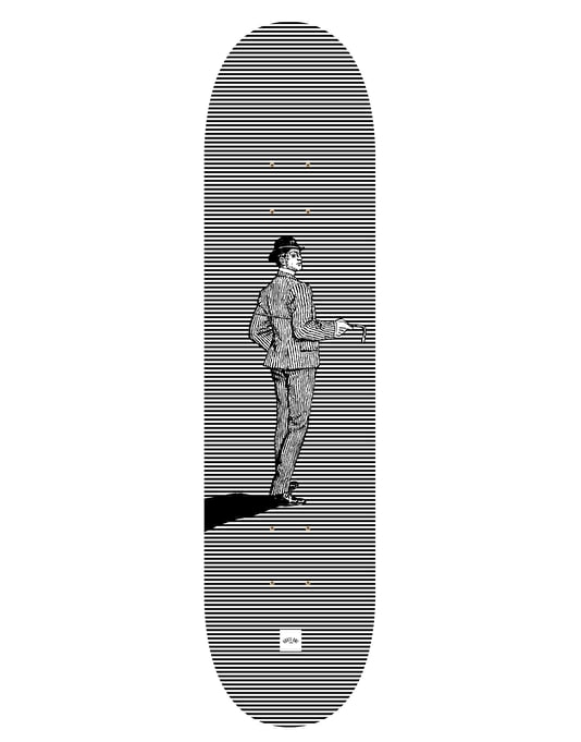 Route One 'Alfred' Gents Series Team Deck - 7.75""