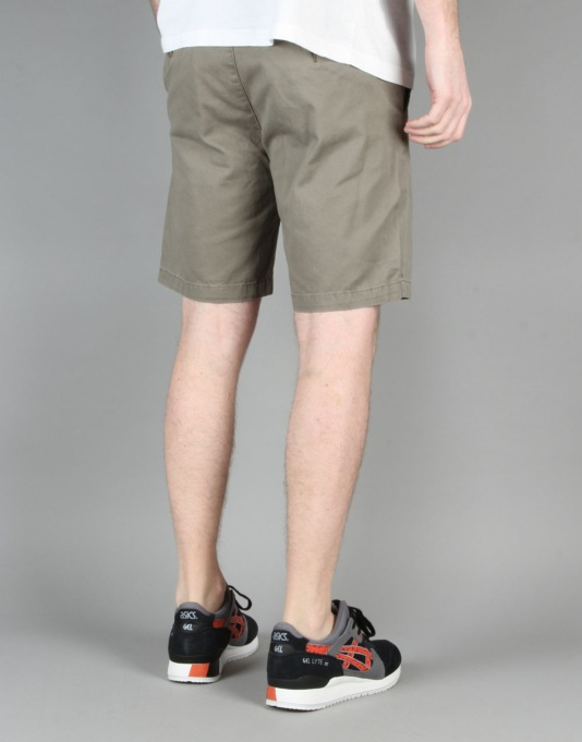 "Globe Goodstock Chino Walkshort 19"" - Bark"