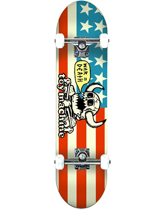Toy Machine Dead American Monster Complete Skateboard - 8.125""